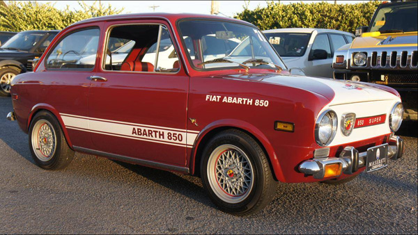 Fiat 850 te koop bij Maserati-dealer in Greenville (USA)