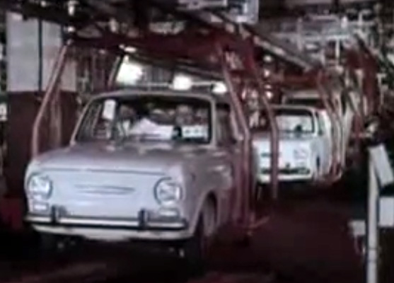 Fiat 850 in een CineFiat productie